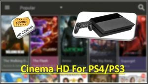 Cinema APK on PS4