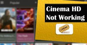 Cinema HD APK Real Debrid Not Working